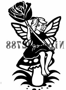 Vinyl Fairy Decal/Wall/Laptop/Tablet /Car Decal/Art n Crafts