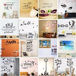 Vinyl Home Room Decor Art Quote Wall Decal Stickers Bedroom