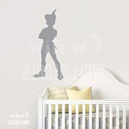 CreativeWallDecals Vinyl Wall Decal Sticker Peter Pan Charac