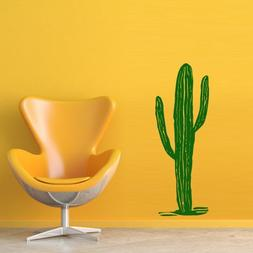 Wall Decal Cactus Plant Barb Africa Texas Desert Room Bedroo