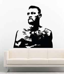 Sport Wall Decals Conor McGregor Mixed Martial Vinyl Decor S
