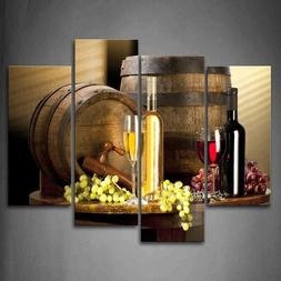 Wall Art Painting Pictures Print Various Wine Picture For Ho