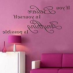 Hatop Wall Sticker Decal Mural Self Adhesive Paper Art Deco