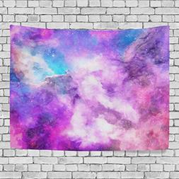 WellLee Wall Tapestry,Star Bling Universe Galaxy Meteor Nebu