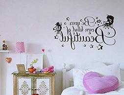 Wall Vinyl Decal Be Your Own Kind of Beautiful Decor Sticker