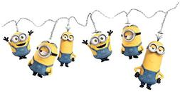 White LED Minions String Lights- Bob, Kevin and Stuart. Perf