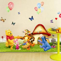 Winnie Bear Nursery Room Wall Decal Stickers For Kids Baby G