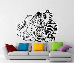 Winnie The Pooh Wall Decal Tigger Eeyore Cartoons Vinyl Stic