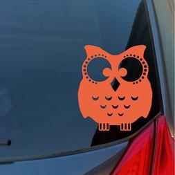 Wise Owl vinyl sticker decal car truck SUV cute wall hoot wi