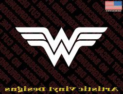 Wonder Woman vinyl decal sticker for wall, car, laptop many