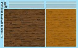 GOFER RACING WOOD GRAIN AND BED STRIPS DECALS FOR 1:24 and 1