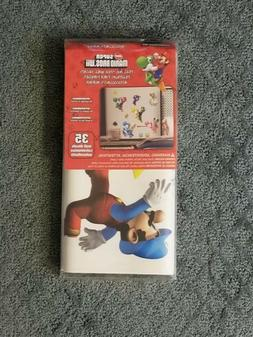 YORK WALL COVERINGS SUPER MARIO BROS WII WALL DECALS  QTY 35